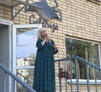"""Olgos Šalaginovos atliekamų populiarių dainų koncertas """"Laimės daug nebūna..."""""""