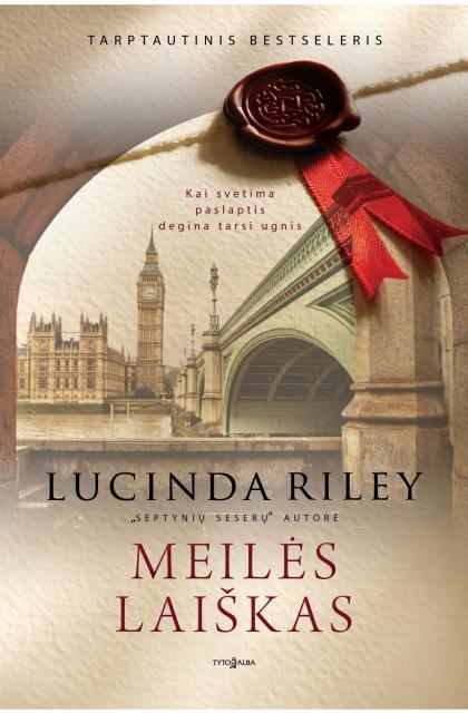 "Lucinda Riley ""Meilės laiškas"""
